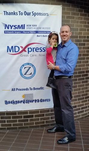 Zoffness College Prep and Hayden at BYSC Event